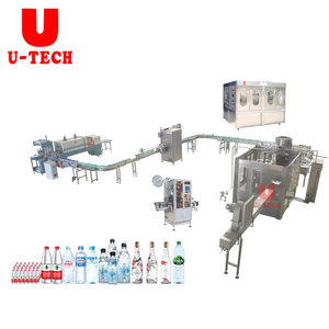 8000BPH China 500ML Full Automatic 3 In1 Mini Small Bottle Mineral Pure Drinking Water Bottling Filling Machine Price