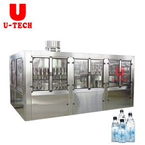 15000BPH Automatic Small Bottle Mineral Water Washing Filling Capping Machine Price