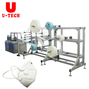 Semi Automatic KN95 Face Mask Making Machine Line