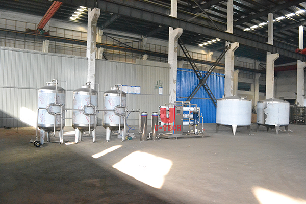 Water treatment system ready to send to Nigeria